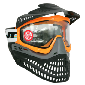 JT Spectra Proflex LE ORANGE -/w black visor thermal