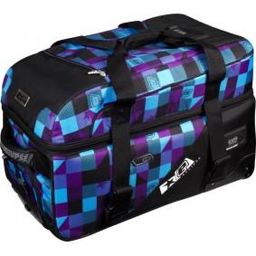 Eclipse Split Compact Bag  Plaid Purple